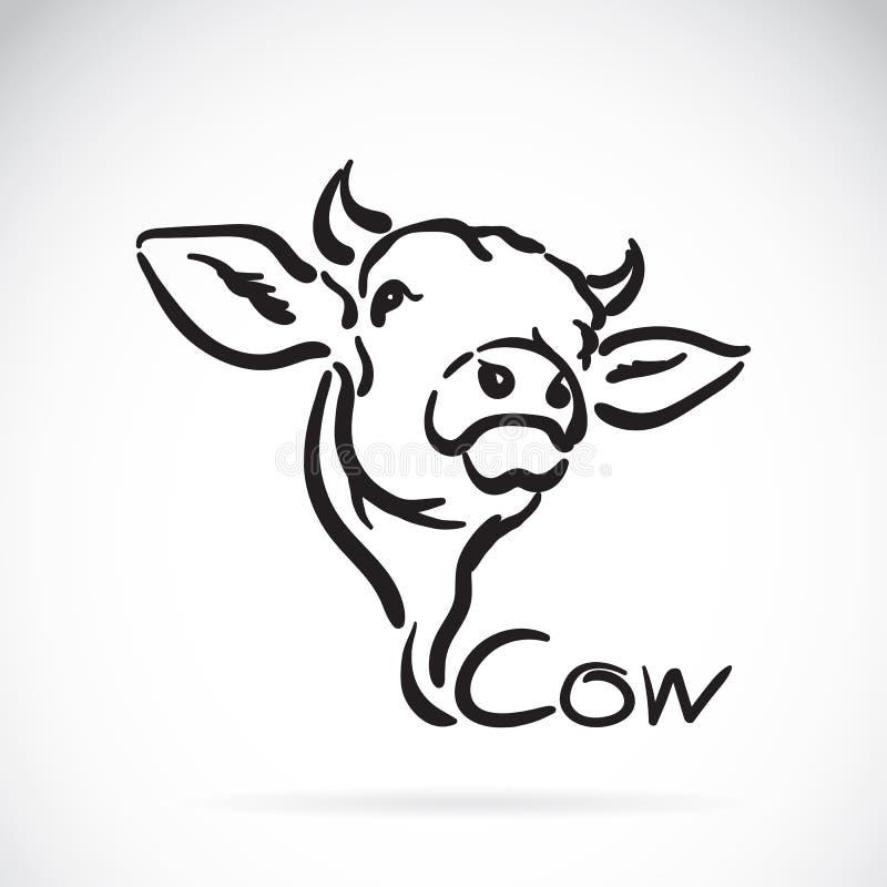 Vector van een koe royalty-vrije illustratie