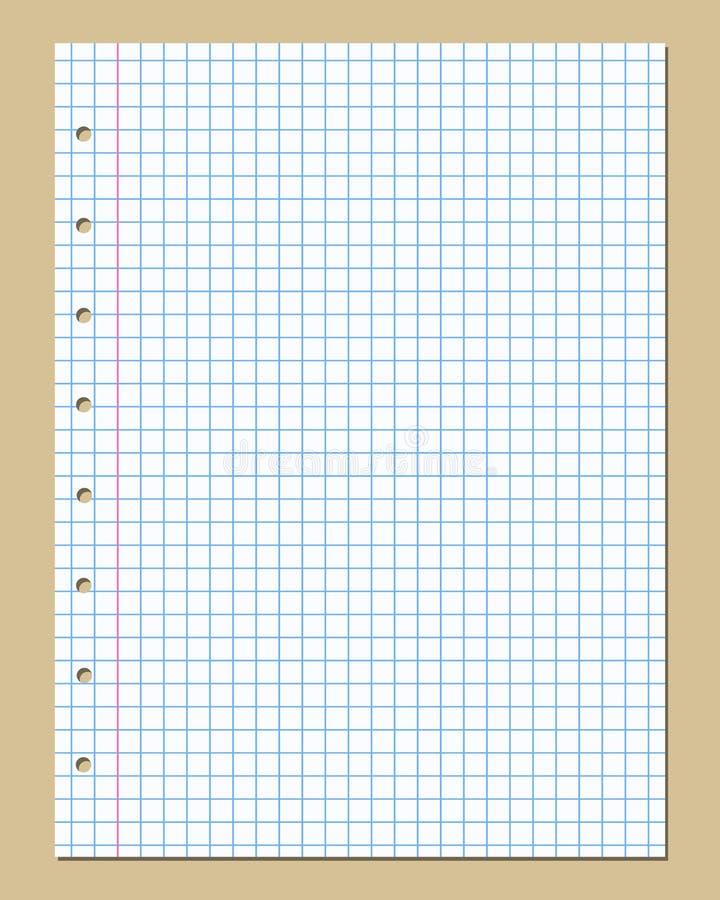 Vector van geregeld document royalty-vrije illustratie