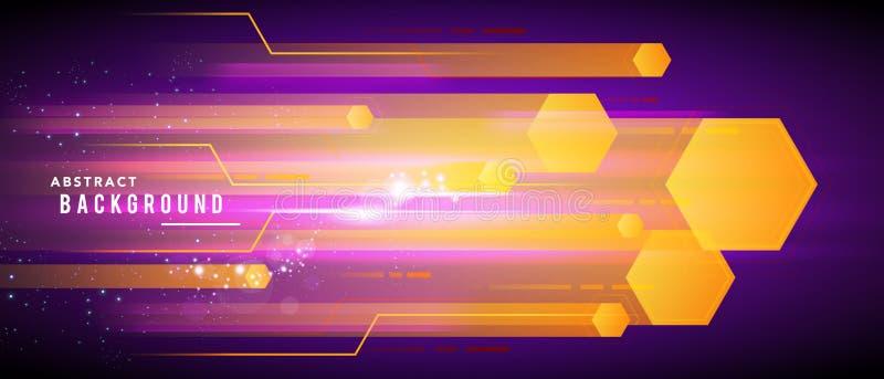 Vector van het de bewegingspatroon van de illustratiesnelheid het ontwerpconcept als achtergrond vector illustratie