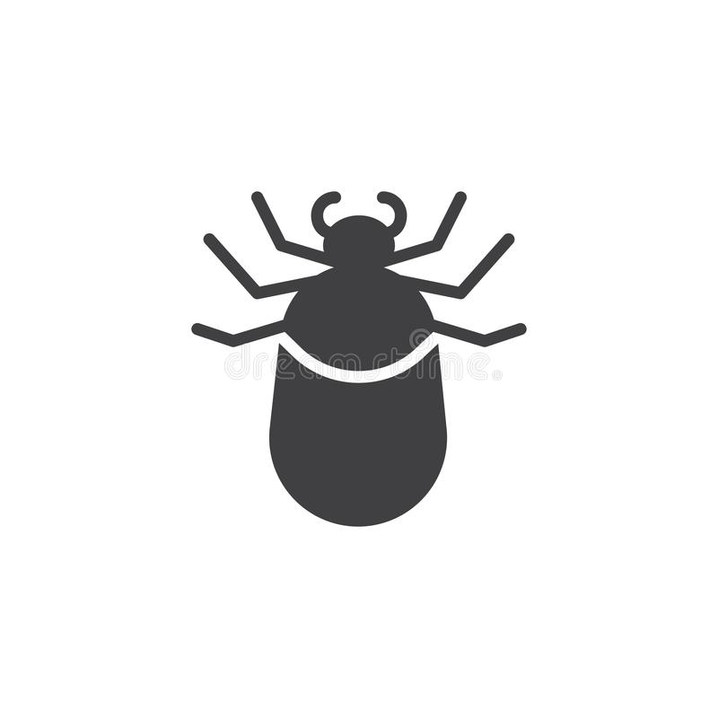 Vector van het tik de dierlijke pictogram royalty-vrije illustratie