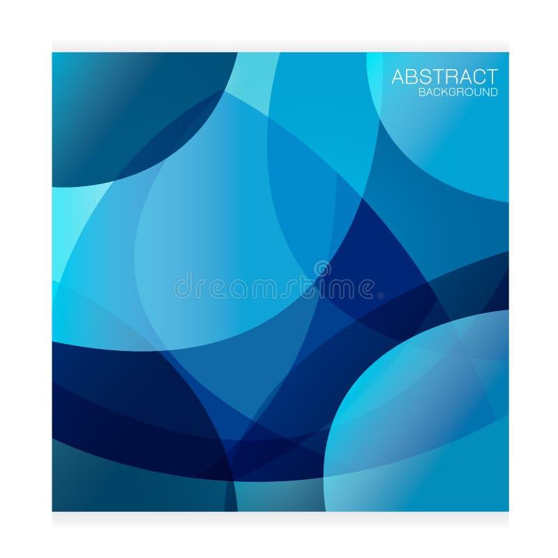 Vector vastgesteld Abstract licht intensief blauw als achtergrond op witte achtergrond vector illustratie