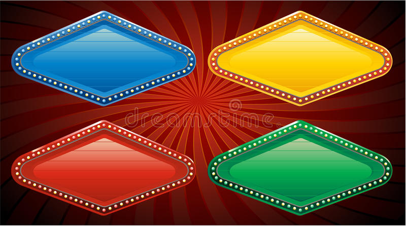 Download Vector Vegas Casino Sign Stock Images - Image: 14579514