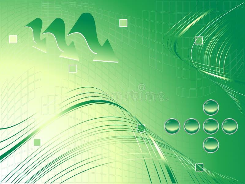 Download Vector verde moderno ilustración del vector. Ilustración de gráfico - 7282810