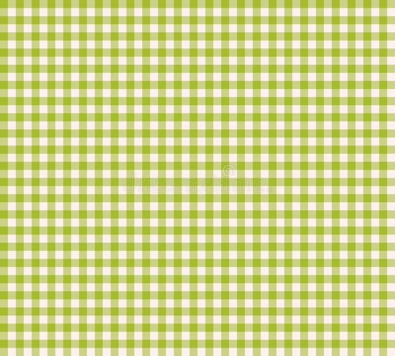 Vector vichy patroon - geruite naadloze achtergrond vector illustratie