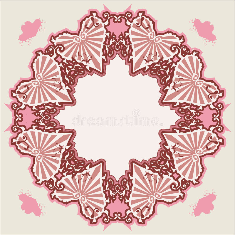 Download Vector Victorian Vintage Heart Stock Vector - Image: 2362724