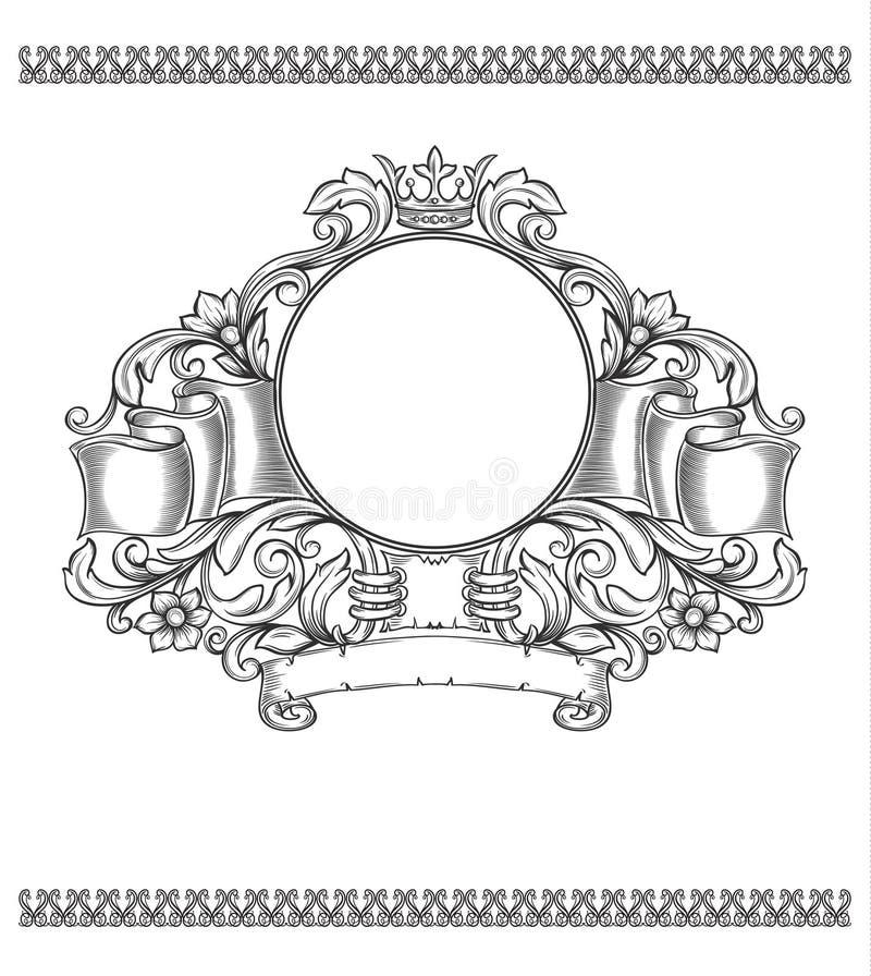 Vector vintage border vector illustration
