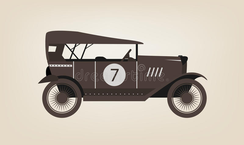 Download Vector Vintage Car Royalty Free Stock Photography - Image: 28574487