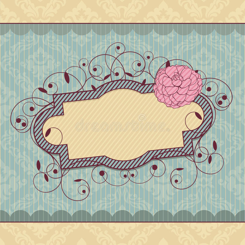 Download Vector vintage frame stock vector. Image of ornament - 21242131