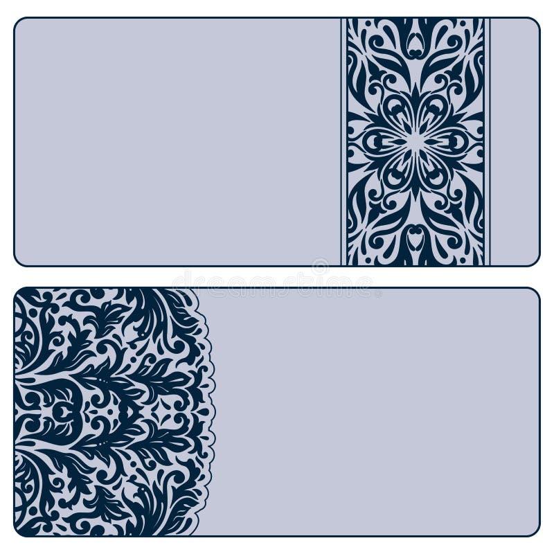 Download Vector Vintage Invitation Card Set. Royalty Free Stock Photos - Image: 31391958