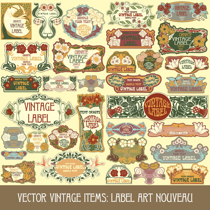 Download Vector Vintage Items Royalty Free Stock Photography - Image: 26526607