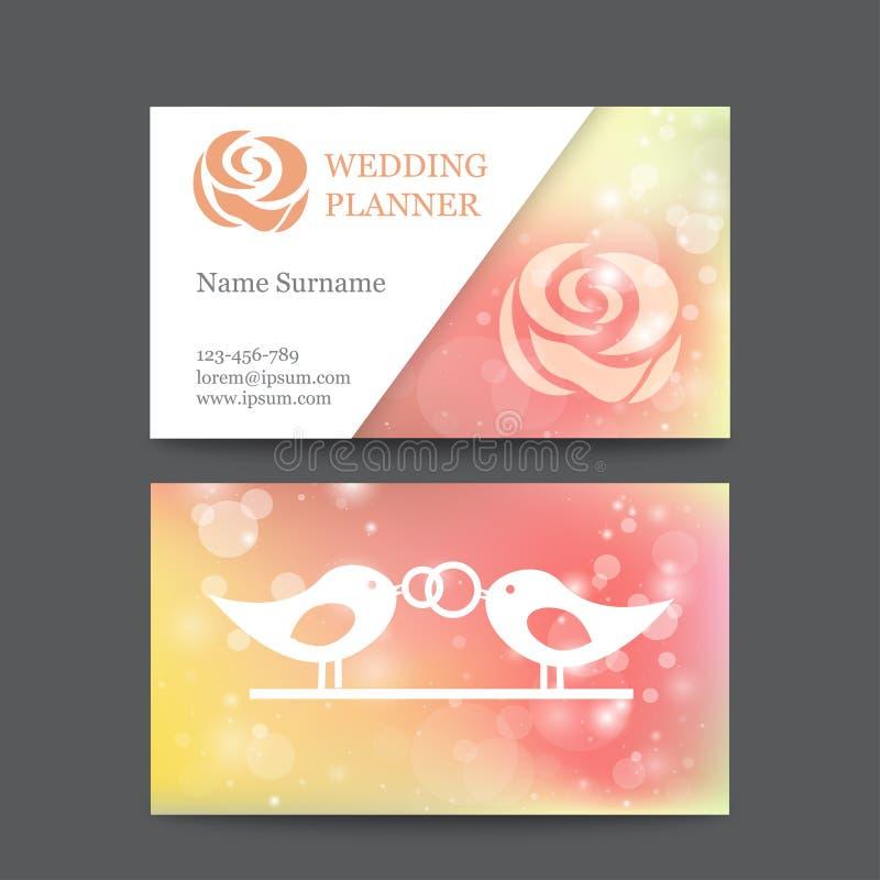 Vector vintage wedding business card template stock vector download vector vintage wedding business card template stock vector illustration of advertising call wajeb Choice Image