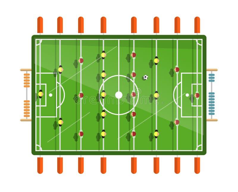 Speelplaats Van De Voetbal De Hoogste Mening Met Spelers ...