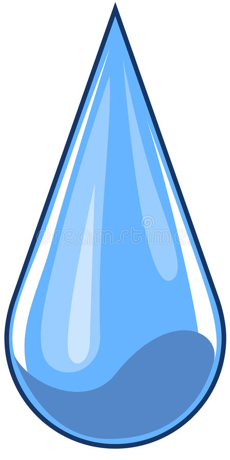 Vector Wassertropfen vektor abbildung