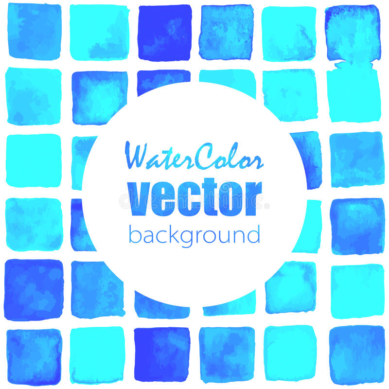Vector watercolor background vector illustration
