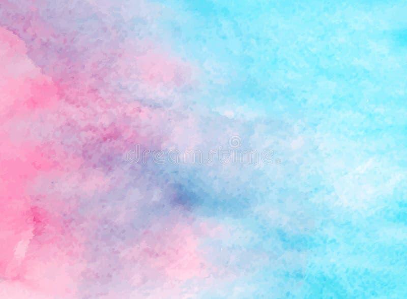 Vector watercolor color texture royalty free stock photos