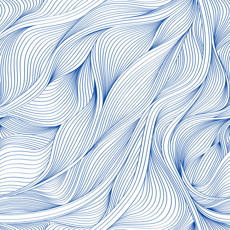 Vector waves background. royalty free stock photos