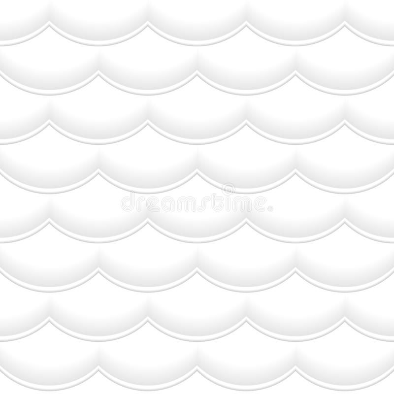 Download Vector Wavy Seamless Pattern Stock Vector - Illustration of repeating, royal: 34917319