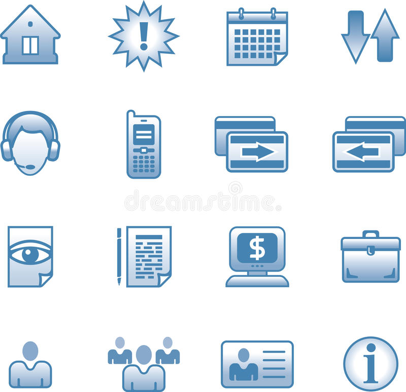 Download Vector web icon Set stock vector. Illustration of clipart - 9719787