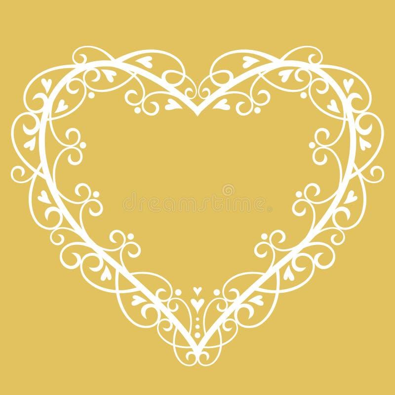 Vector Wedding Background Stock Photography
