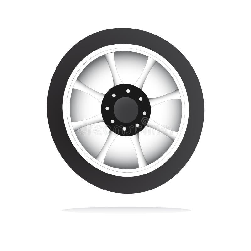 Free Vector Wheel And Rim Stock Image - 10684111