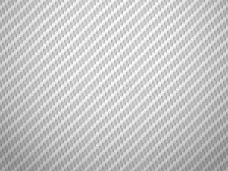 vector white carbon fiber volume background stock vector