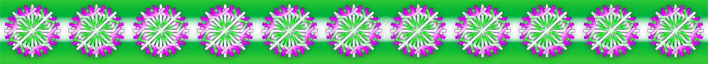Vector white green purple Christmas stars on green white background, as a bar, banner, border, etc.,. Vector eleven white green purple Christmas stars on green vector illustration