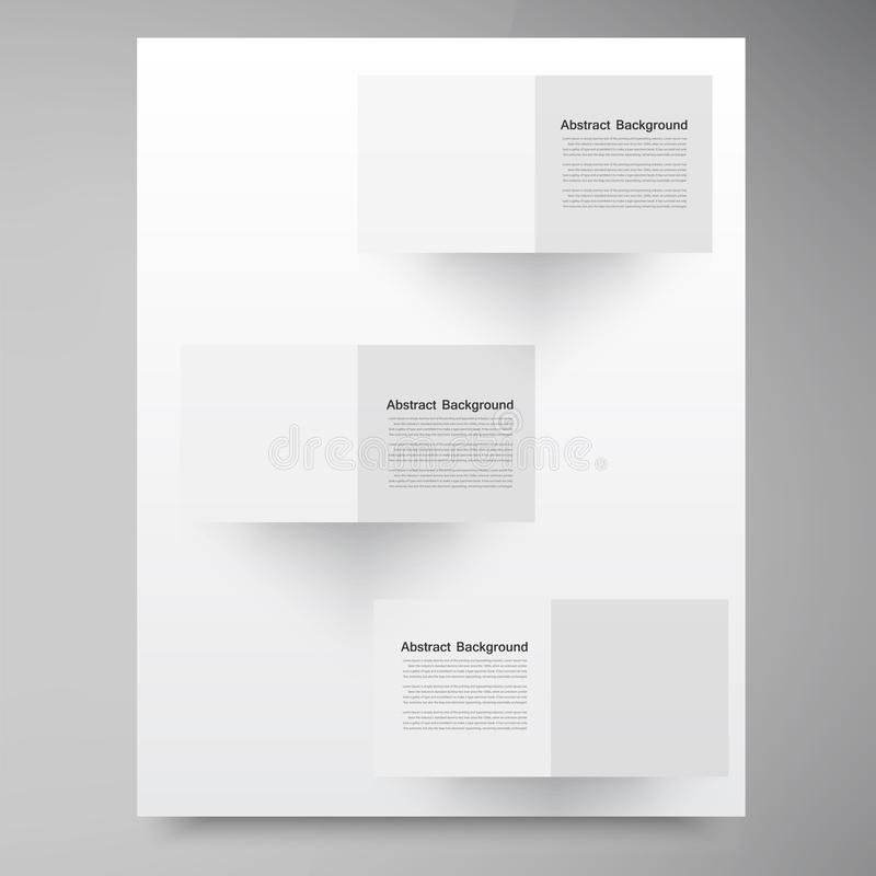 Free Vector White Squares. Abstract Backround Royalty Free Stock Photo - 34875155