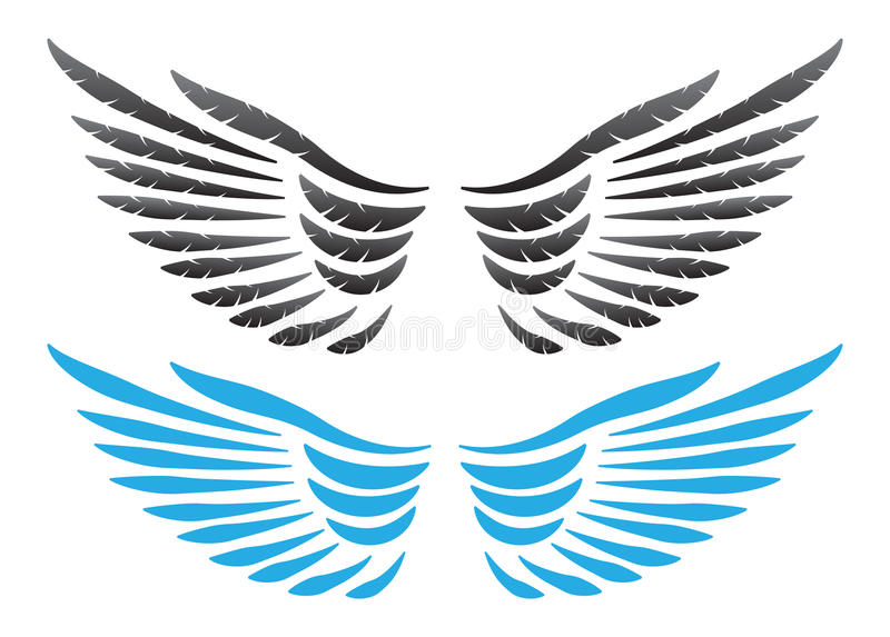 Download Vector wings illustration stock vector. Illustration of antique - 32836090