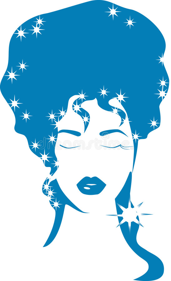 Download Vector Winter Girl Stock Images - Image: 7232074