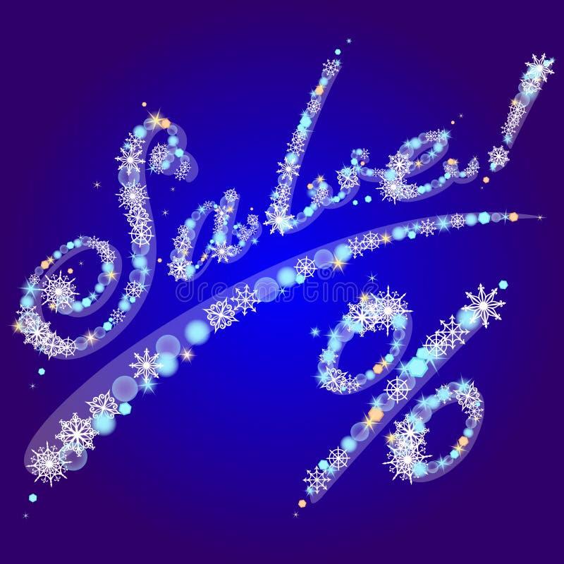 Download Vector Winter Inscription Sale! Stock Photo - Image: 17668740