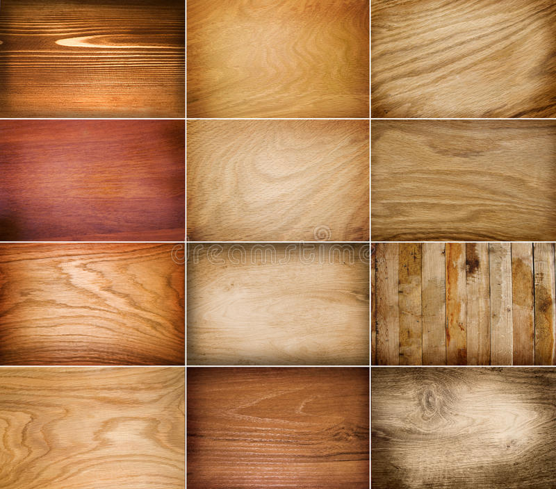 Vector Wood Background Royalty Free Stock Photography