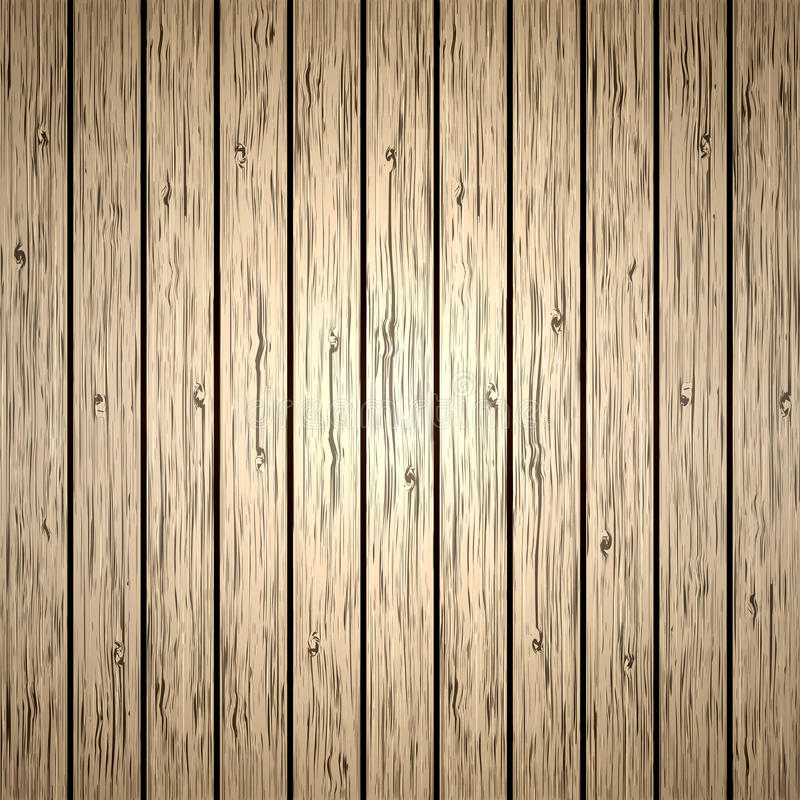 Free Vector Wood Plank Background Royalty Free Stock Images - 25843039