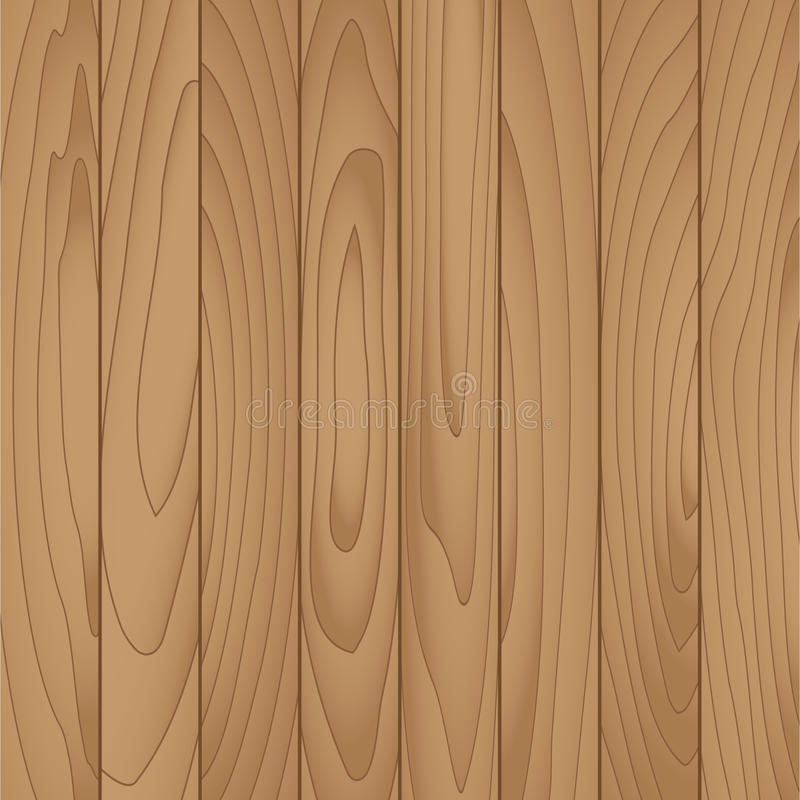 Vector wood plank for background vector illustration
