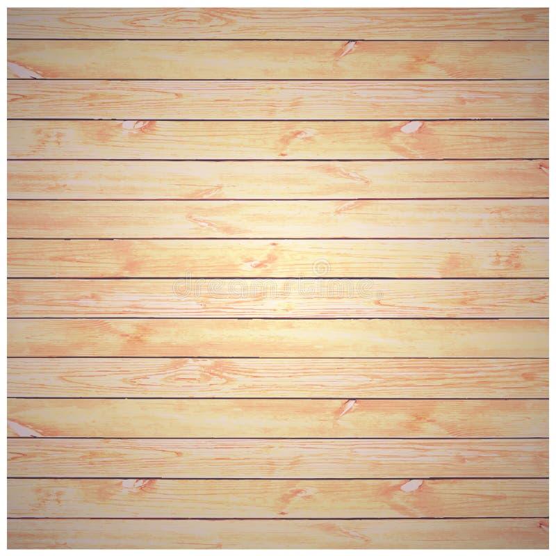 Vector wood plank background vector illustration