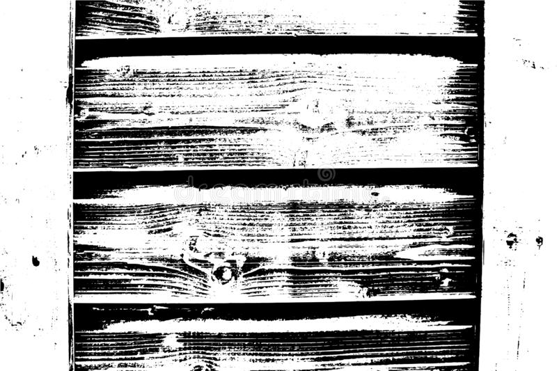 Vector wood texture. Abstract background, old wooden wall. stock illustration