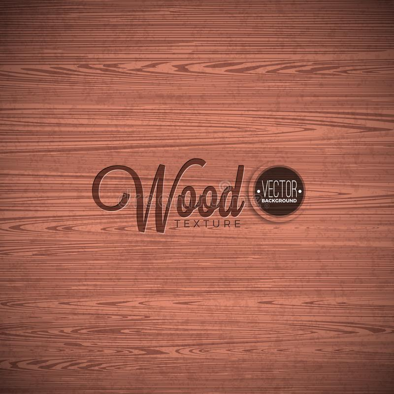 Vector wood texture background design. Natural dark vintage wooden illustration. Vector wood texture background design. Natural dark vintage wooden illustration royalty free illustration
