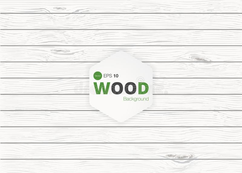 Vector wood texture. background old panels. Grunge retro vintage wooden texture, vector background royalty free illustration