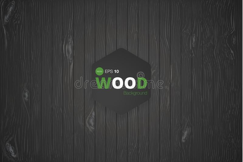 Vector wood texture. background old panels. Grunge retro vintage wooden texture, vector background vector illustration
