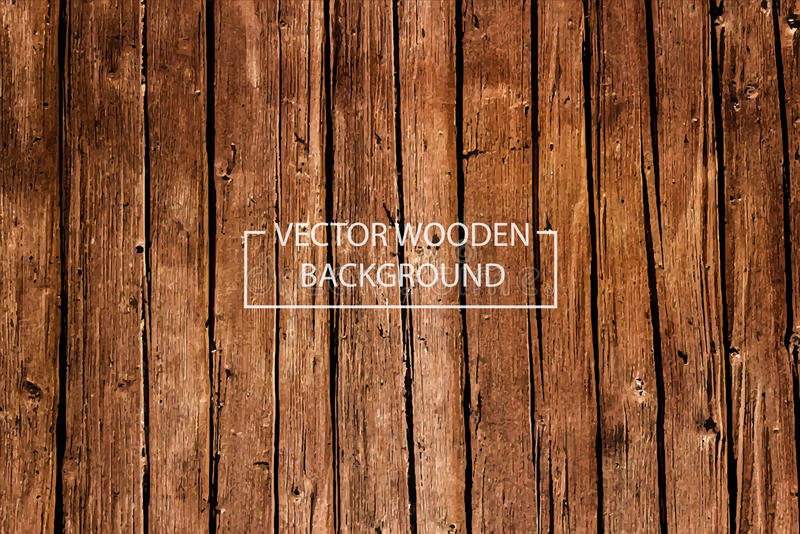 Vector Wooden Background. stock images