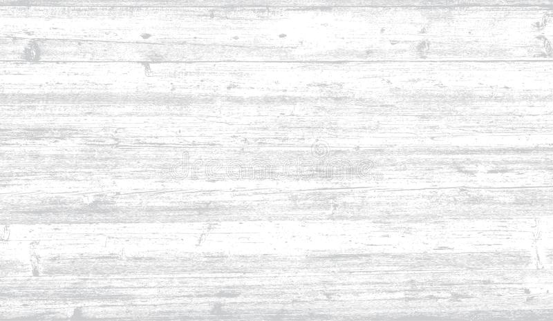 Vector wooden board background. Vector wood planks grunge table background texture royalty free illustration