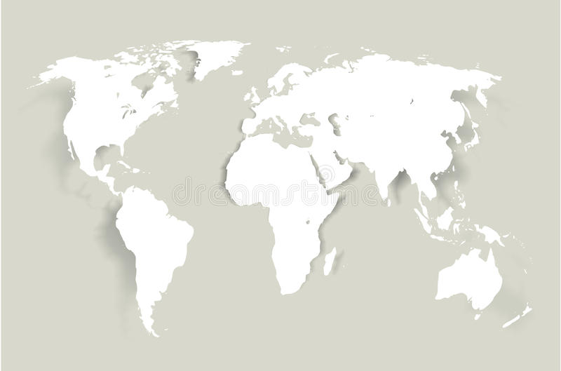 Vector World Map vector illustration