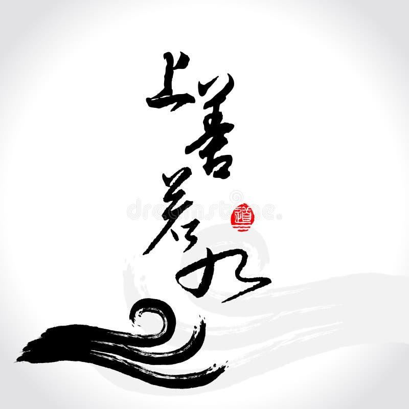 Download Vector Zen Brushstroke Wave,As Good As Water Stock Vector - Image: 21871651