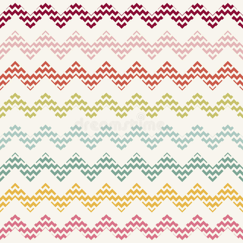 Free Vector Zigzag Chevron Pattern Stock Photo - 60401980