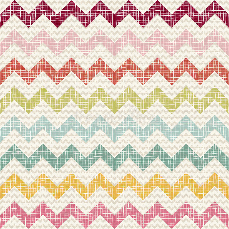 Free Vector Zigzag Chevron Pattern Stock Photos - 60972503