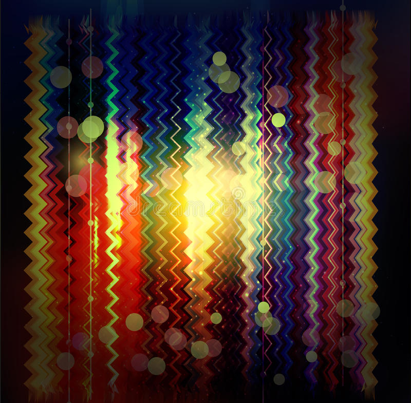 Download Vector Zigzag Striped Abstract Background Stock Illustration - Image: 28659455