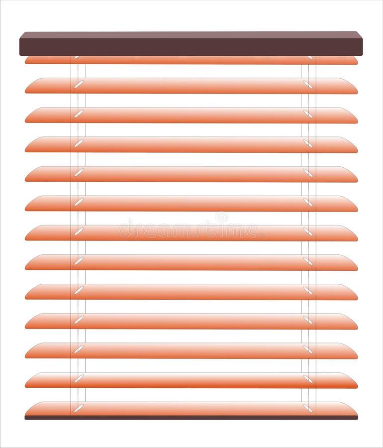 Vector zonneblinden royalty-vrije illustratie