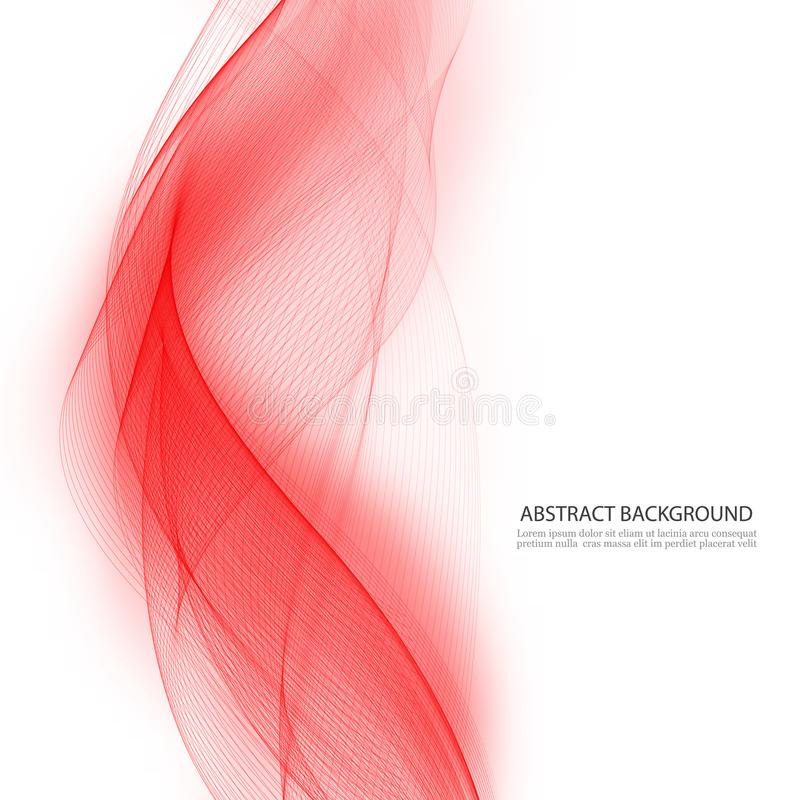 Vectorachtergrond in rode kleur royalty-vrije illustratie