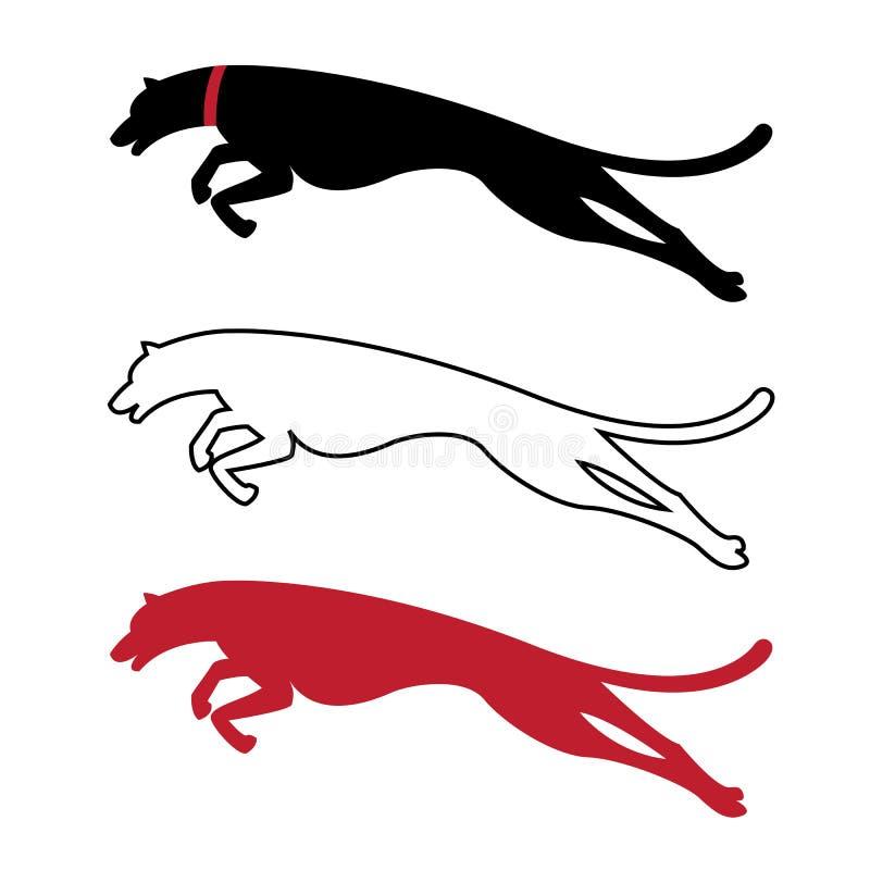 Vectorbeeld van een hond vector illustratie