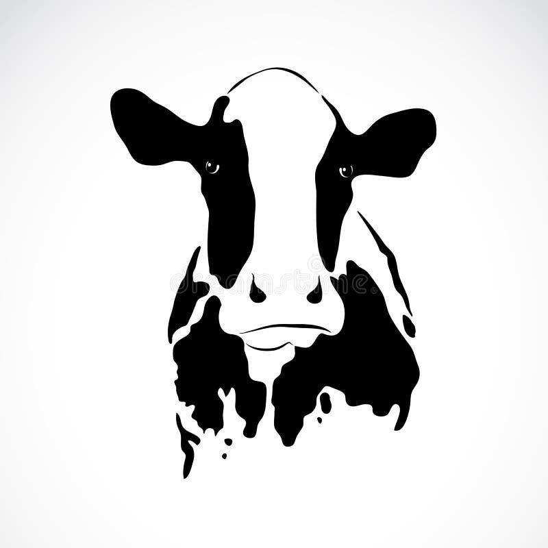 Vectorbeeld van een koe royalty-vrije illustratie