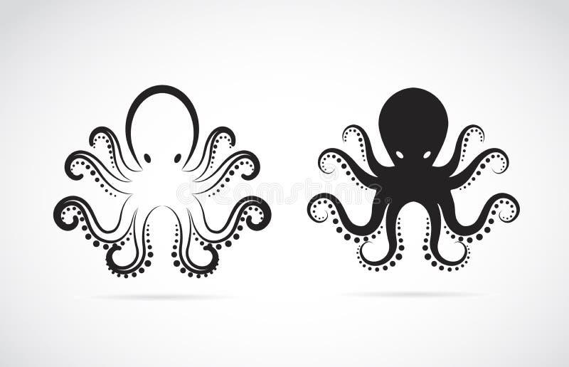 Vectorbeeld van een octopus royalty-vrije illustratie